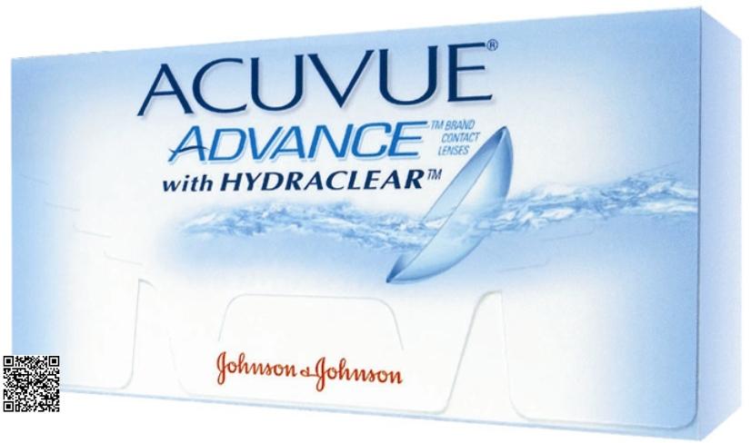 Lentes de Contacto Acuvue Advance con Hydraclear de Johnson   Johnson 3e7e84a771