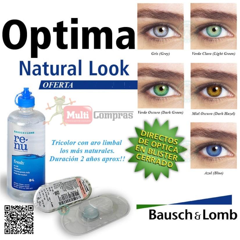 7a39e6eb3 Lentes de Contacto Optima Natural Look de Bausch & Lomb