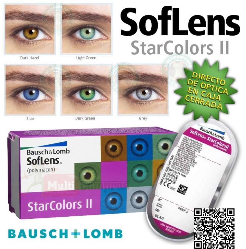 c2b4a7b411 Lentes de Contacto STARCOLORS II de Baush & Lomb