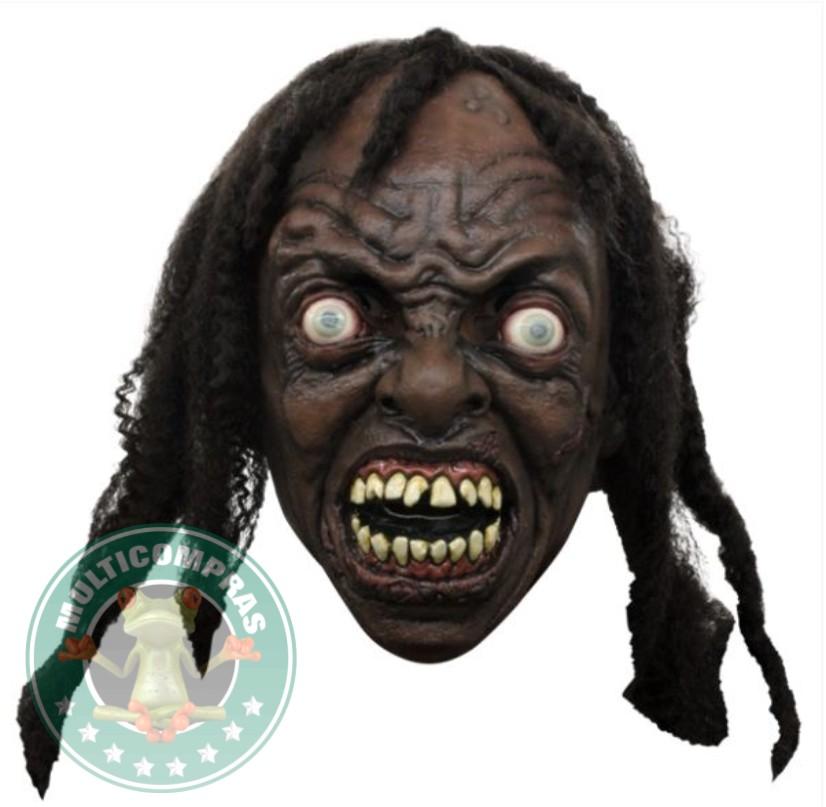 Mascara de Latex 34 de Rastas Zombie Guerra Mundial Z Halloween