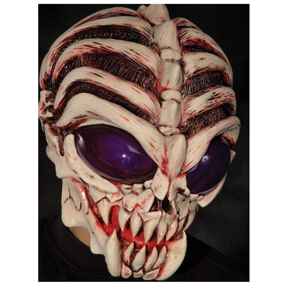 Mascara de latex alien down to earth halloween disfraz - Mascaras de hallowen ...